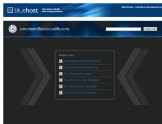 simpleandfabulouslife.com screenshot