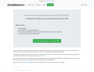 simplebond.com screenshot