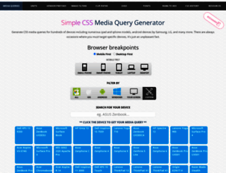 simplecss.eu screenshot