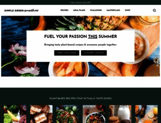 simplegreensmoothies.com screenshot