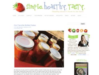 simplehealthytasty.com screenshot