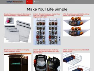 simplehouseware.com screenshot