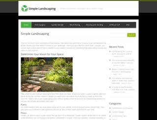 simplelandscaping.co.uk screenshot