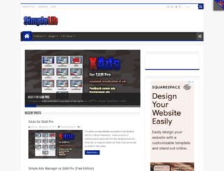 simplelib.com screenshot