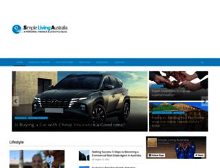 simplelivingaustralia.com.au screenshot