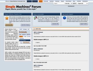 simplemachines.org screenshot