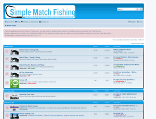 simplematchfishing.co.uk screenshot