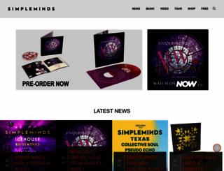 simpleminds.com screenshot