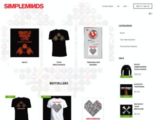 simplemindsshop.com screenshot