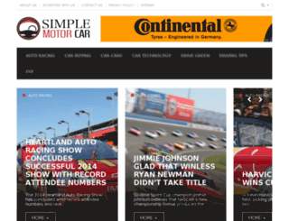 simplemotorcar.com screenshot
