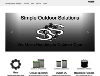 simpleoutdoorstore.com screenshot