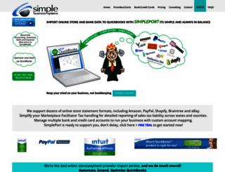 simpleport.net screenshot