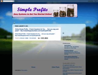 simpleprofits4u.blogspot.com.au screenshot