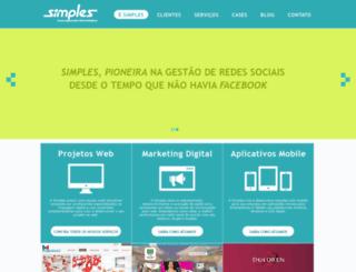 simplesagencia.com.br screenshot
