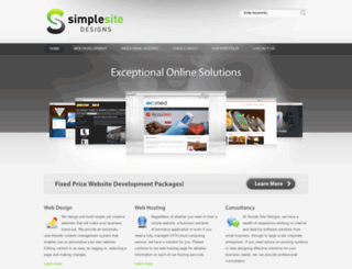 simplesitedesigns.com screenshot