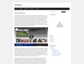 simplesive.blogspot.com screenshot