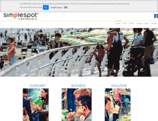 simplespot.it screenshot