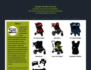 simplestrollers.com screenshot