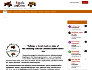 simpletractors.com screenshot