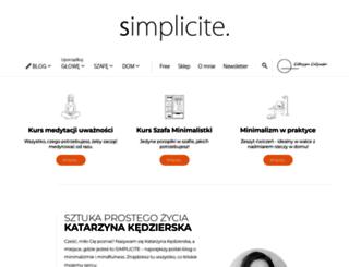 simplicite.pl screenshot