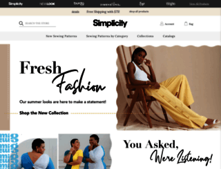 simplicity.com screenshot