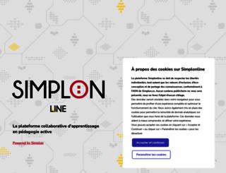 simplonline.simplon.co screenshot