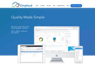 simploud.com screenshot