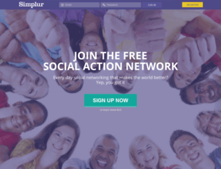 simplur.arckdev.com screenshot