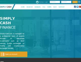 simply-cash.com screenshot