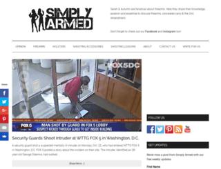 simplyarmed.com screenshot