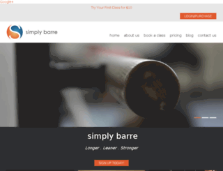simplybarre.liveeditaurora.com screenshot
