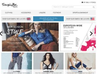 simplybe-euro.com screenshot