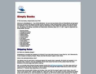 simplybooks.in screenshot