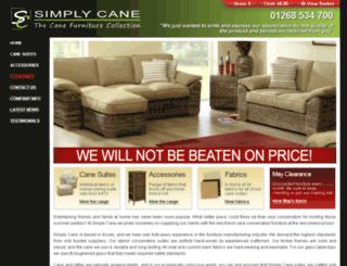 simplycane.co.uk screenshot