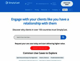 simplycast.com screenshot