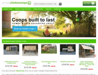 simplychickencoops.co.uk screenshot