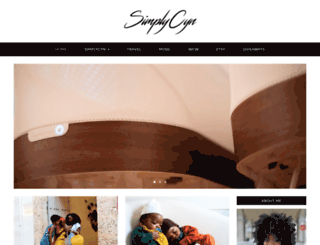 simplycyn.com screenshot