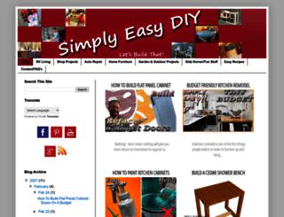 simplyeasydiy.com screenshot