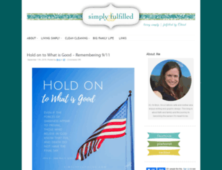 simplyfulfilled.com screenshot