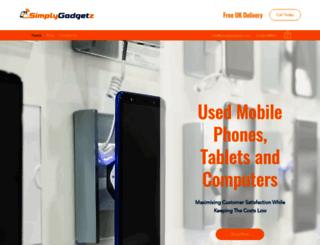 simplygadgetz.com screenshot