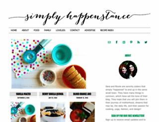 simplyhappenstance.com screenshot