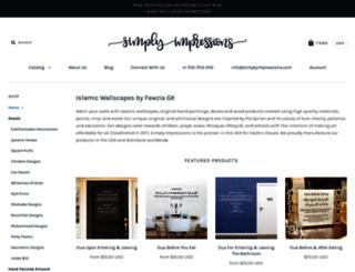 simplyimpressions.myshopify.com screenshot