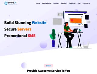 simplyitsols.com screenshot