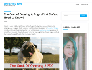 simplykidstoys.com screenshot