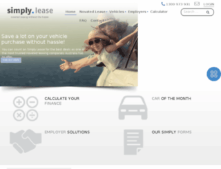 simplylease.com.au screenshot