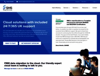simplymailsolutions.com screenshot