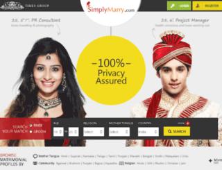 simplymarry.net screenshot