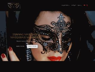 simplymasquerade.co.uk screenshot
