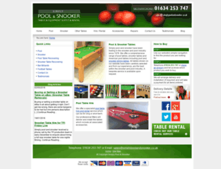simplypoolandsnooker.com screenshot