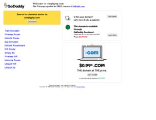 simplyptp.com screenshot